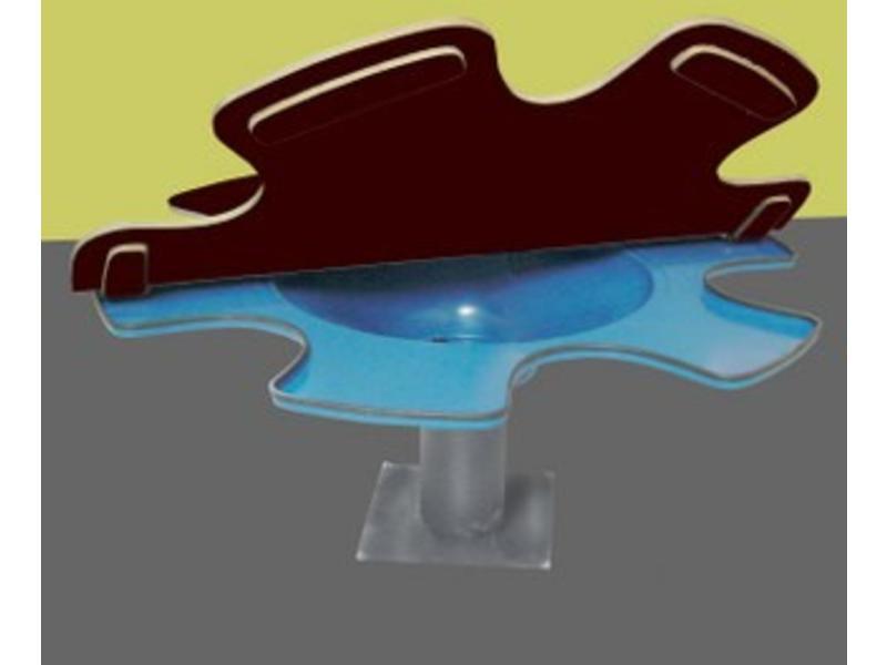 Atelier Michel Koene Blad t.b.v. Zandwatertafel - voor buiten, BetonplexØ 170cm