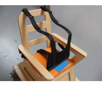 Fixatiehes incl zitbroek voor stoel- 4x pensluiting