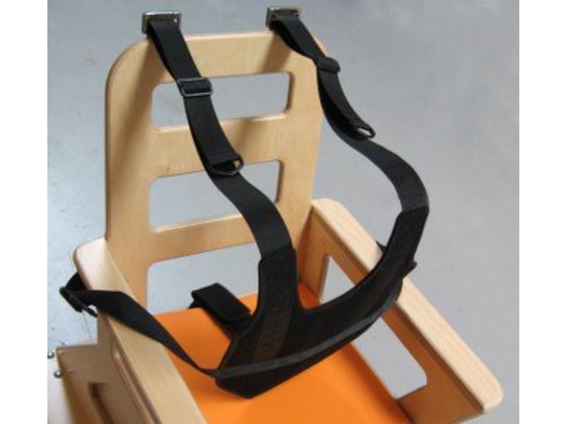 Atelier Michel Koene Fixatiehes incl zitbroek voor stoel- 4x pensluiting