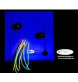 Wens Design WensDesign Fluoline kralen plank   29,5 x 29,5 cm