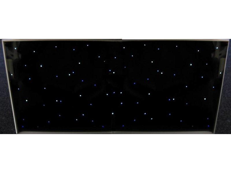 Tegel met sterrenhemellichtjes   120 x 60cm