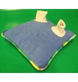 Voet- of handkussen met ballen   42cm