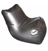 Atelier Michel Koene Zitzak Relax Maxi, kunstleer zwart   110 x 108 x 70cm