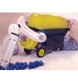 Ballenwasmachine compleet met slang, reinigingstabletten, etc