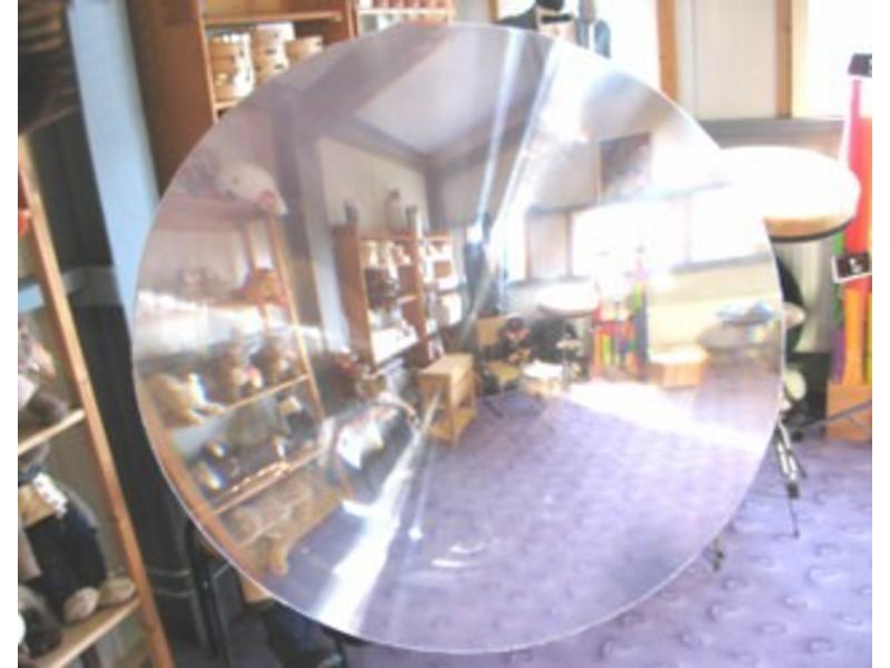Fish eye lens- doorzichtig   Ø 25cm
