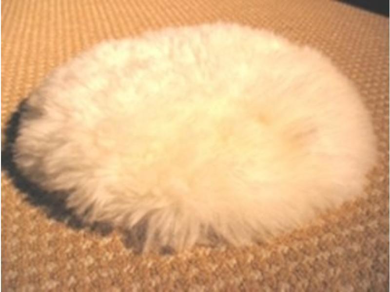 Senso-Care Alpaca tastkussen- rond, excl. gewichten -Ø 35cm