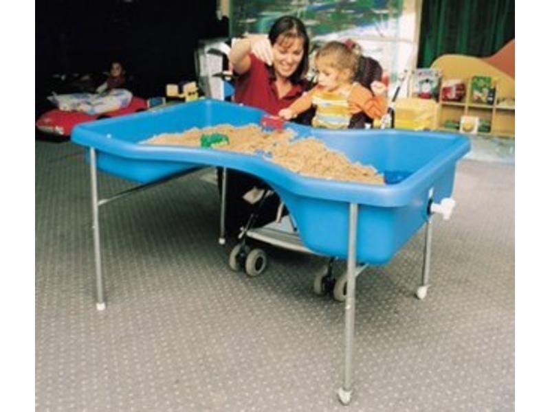 Zandwatertafel model Zandloper   80 x 120 cm h = 70