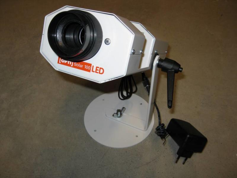OPTIkinetics Vloeistofprojector Solar 100 LED