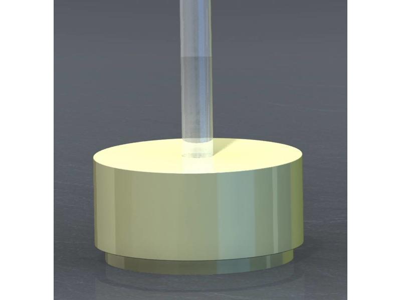Atelier Michel Koene Eiland t.b.v. Bubble Unit rond, Bisonyl   Ø 100 x 50cm