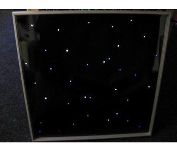 Tegel met sterrenhemellichtjes en besturing