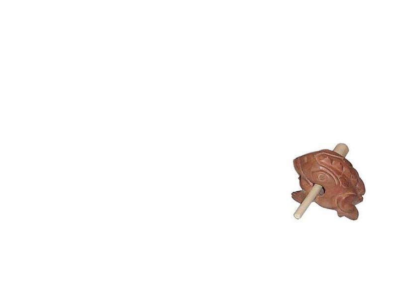 Goldon Houten Kikker rasp mini   5cm
