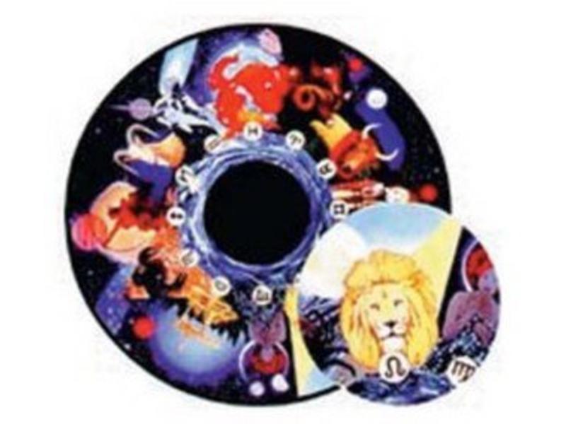 OPTIkinetics Effectwiel beeld Zodiac
