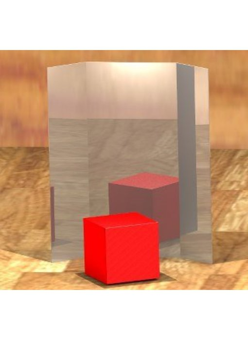 Spiegeldrieluik - acrylaat