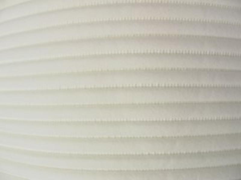 Pneumolastic Velour - Charmeuse ecru-wit of zwart   br. 128cm