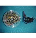 Puntspot- incl lamp- kleurenwiel en motor   6V/30W