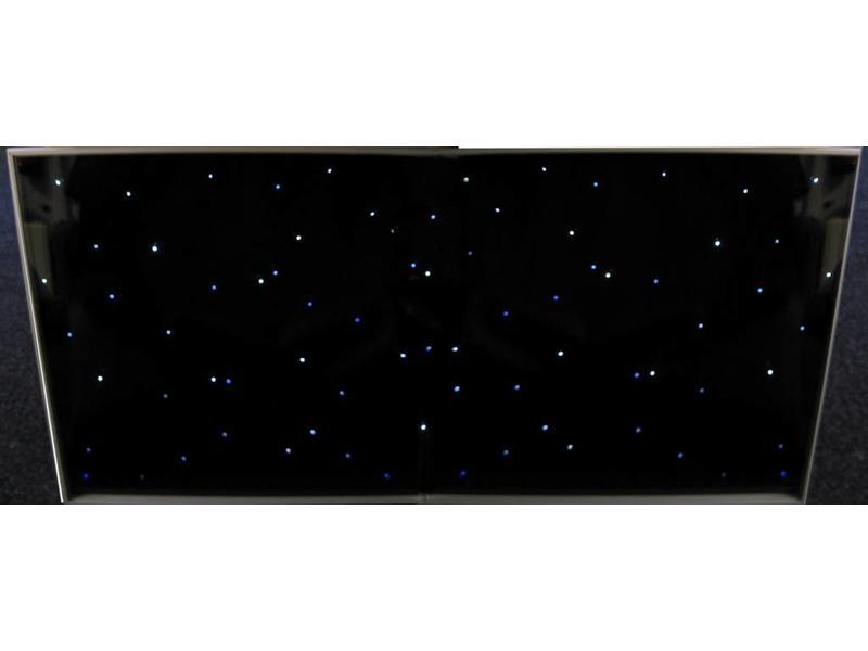 Tegel met sterrenhemellichtjes en besturing   120 x 60cm