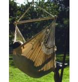 Stoelhangmat Cadeira- ecru met hout
