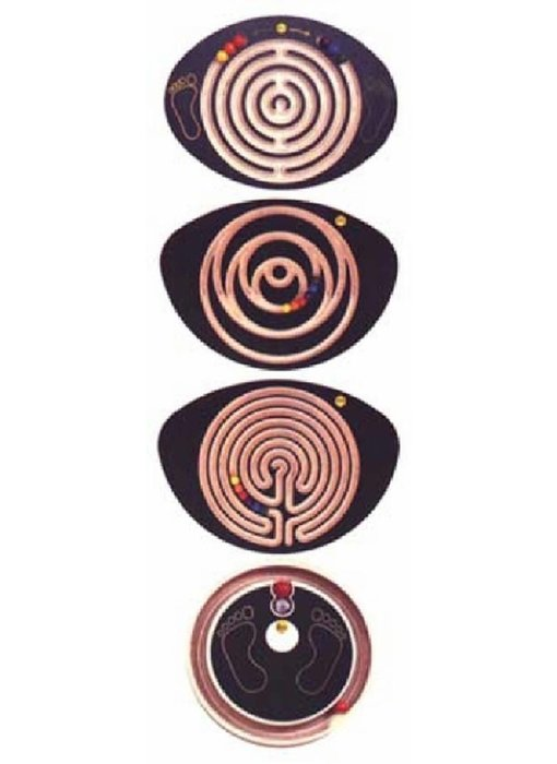Balansplank labyrint