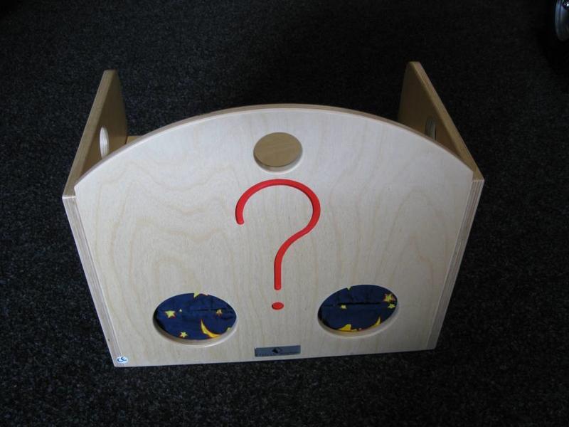 Van Dijk Toys Poppenzitbank-tastkist   40x24x38cm