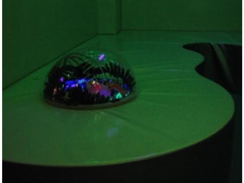 Atelier Michel Koene Meerprijs Blacklightaquarium inbouw in podium