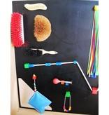 Atelier Michel Koene Doetastwand voor buiten   120 x 120cm