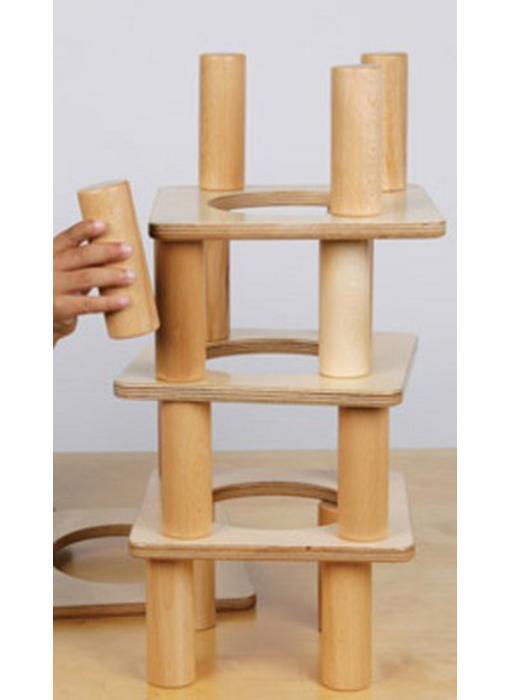 Balans toren hout