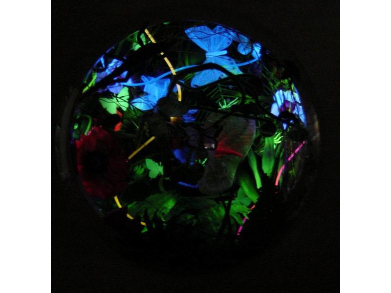 Atelier Michel Koene Blacklightschilderijkast Koepel   80 x 80cm