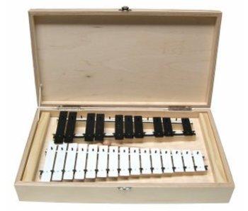 Goldon Metalofoon in houten doos