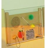 Atelier Michel Koene Speelplaathouder enkel, wandbevestiging   houder enkel
