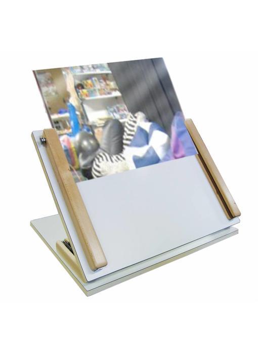 Acrylaatspiegel t.b.v. speelplaathouder