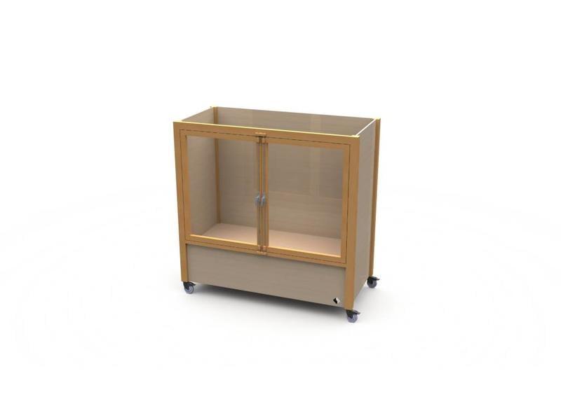 Atelier Michel Koene Bed Ule met hoog/laag bodem (maatwerk)