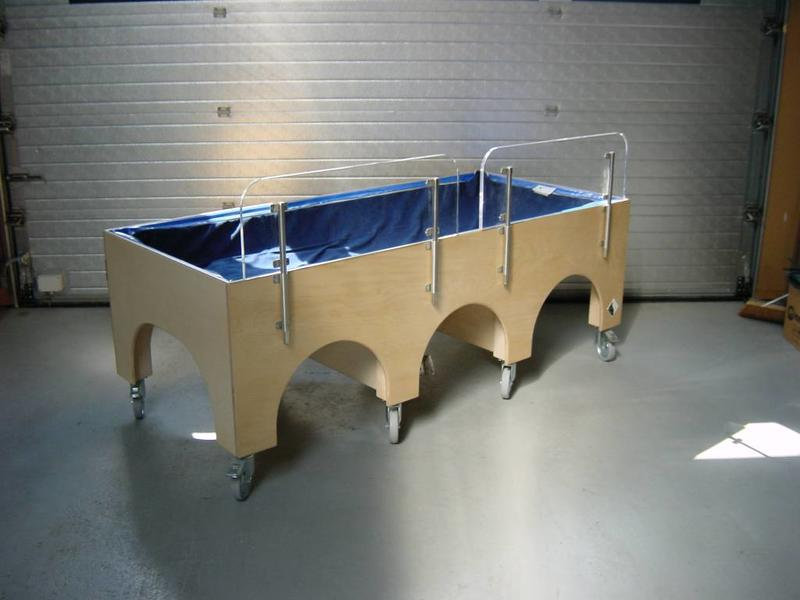 Atelier Michel Koene Bed Mosk met waterbed (maatwerk)