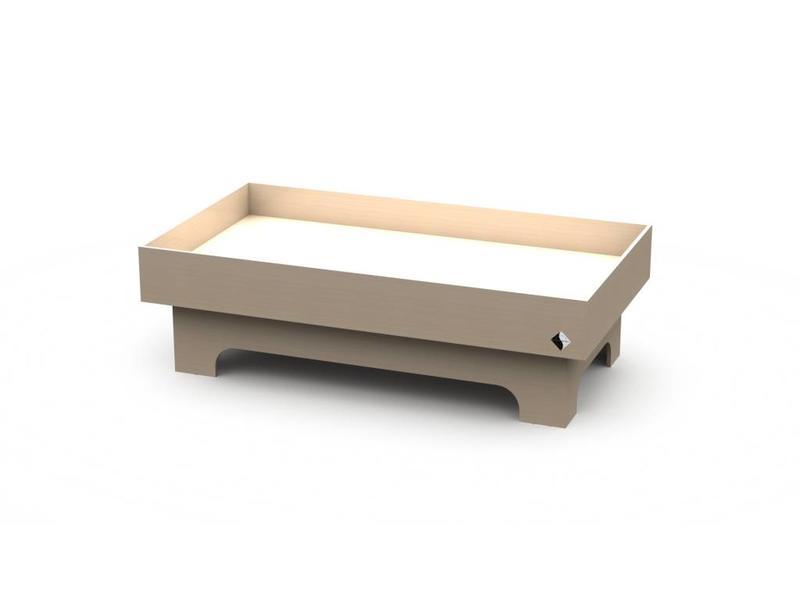 Atelier Michel Koene Bed Wylp met waterbed  (maatwerk)