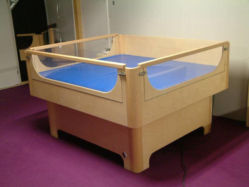 Atelier Michel Koene Bed Reager met waterbed  (maatwerk)