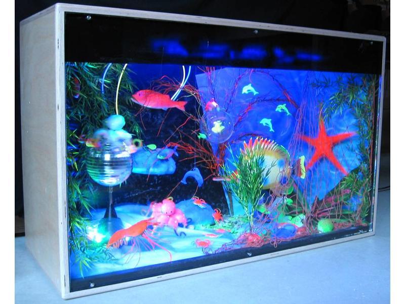 Atelier Michel Koene Blacklightkast Aquarium