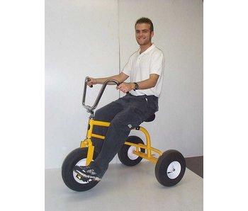 Trike Solo blauw driewieler ongemonteerd