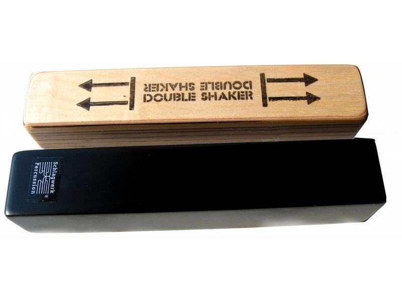 Schlagwerk Schlagwerk SK40 Shaker Double zwart vierkant