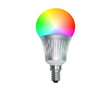 LED lamp RGB-W Full color E14