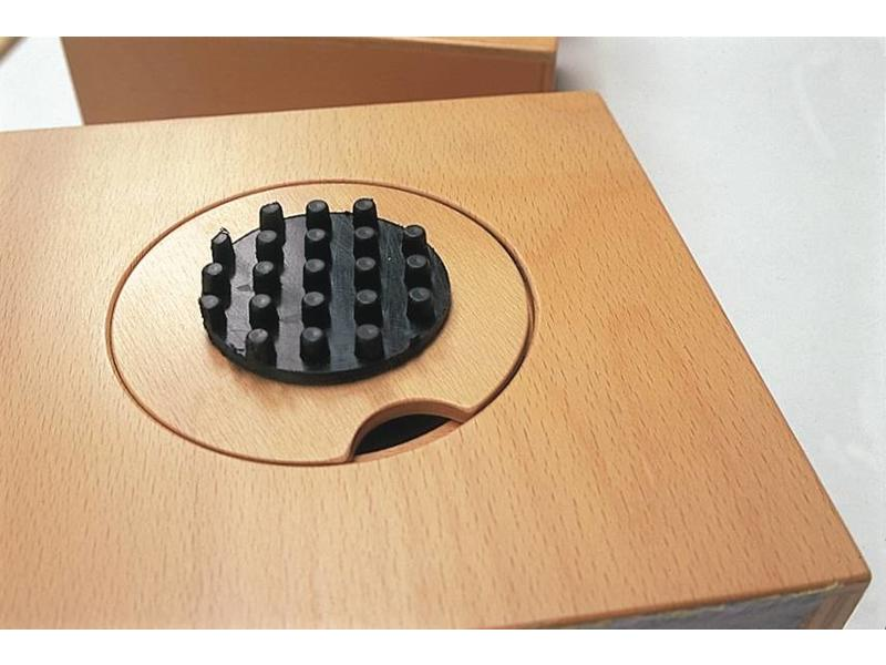 Tast - Voeldozenset- 10x kistje- div materialen 18 x 18 x 10cm p/st