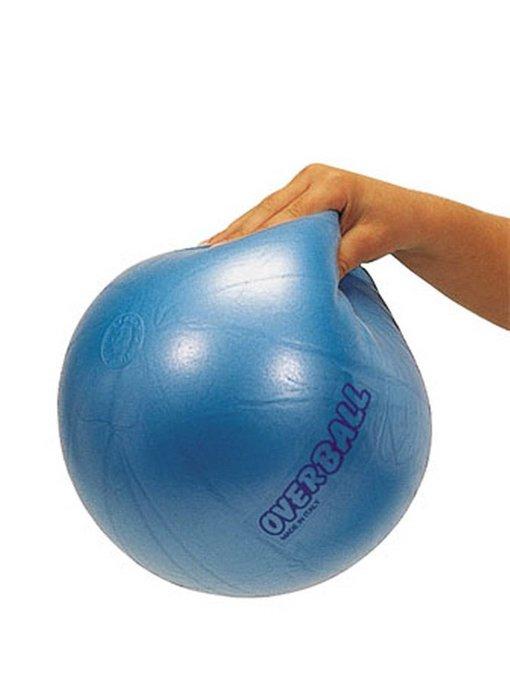 Gymnic Overball- opblaasbaar - blauw