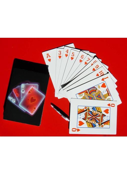 Extra grote speelkaarten A4 - DEMO