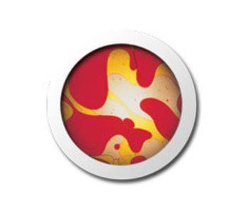 Vloeistofwieltje Space-Projector rood/geel
