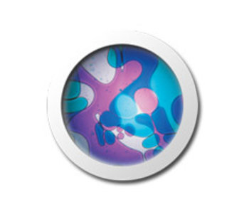 Vloeistofwieltje Space-Projector violet/blauw