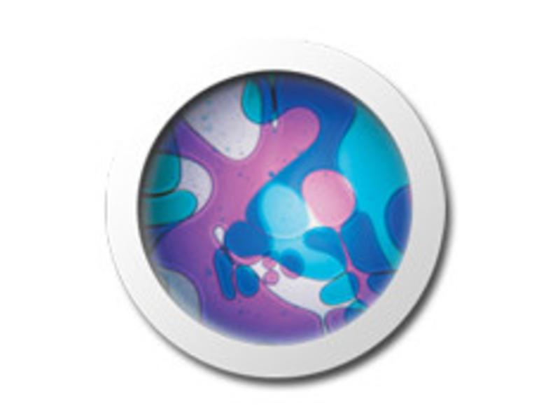 Mathmos Vloeistofwieltje Space-Projector violet/blauw