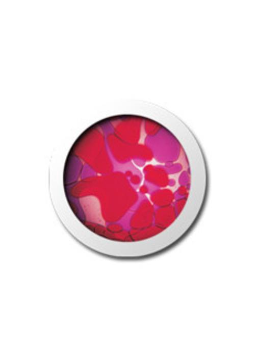 Vloeistofwiel Space-Projector violet/rood