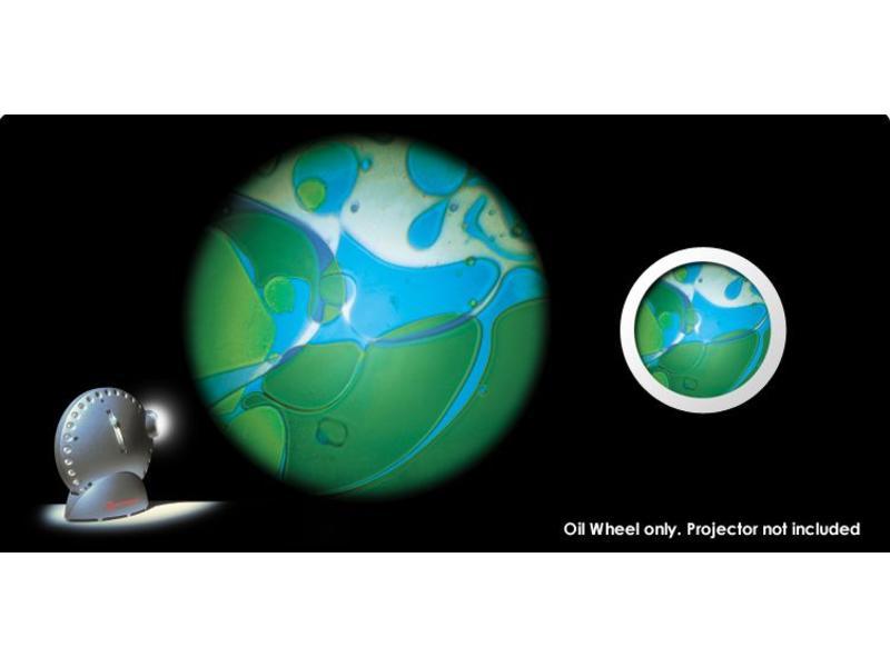 Mathmos Vloeistofwieltje Space-Projector blauw/groen