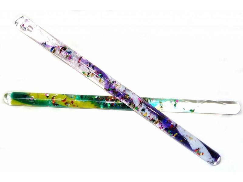 Glitterstaaf spiraal-dun