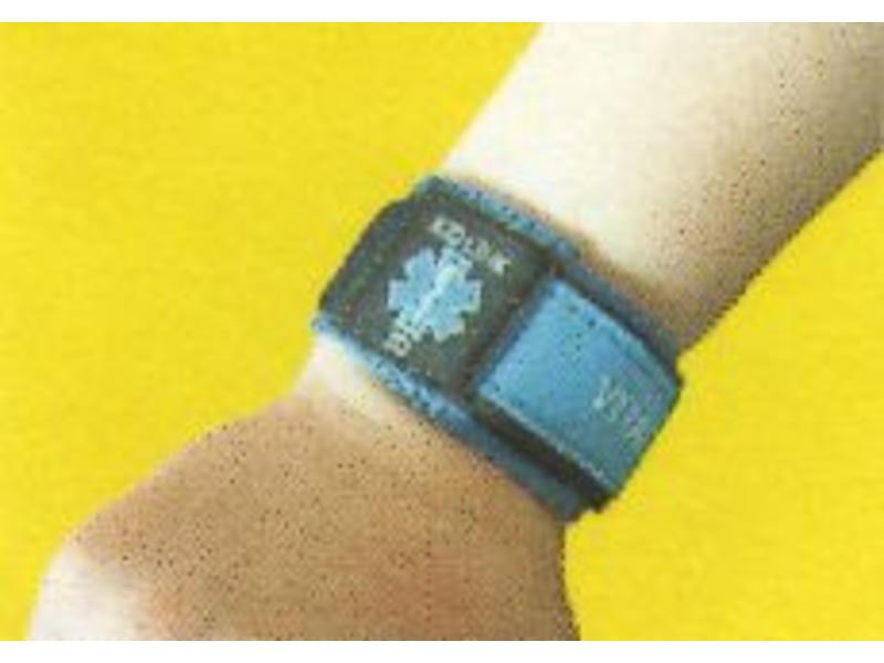 Medische Informatie Armband - rose