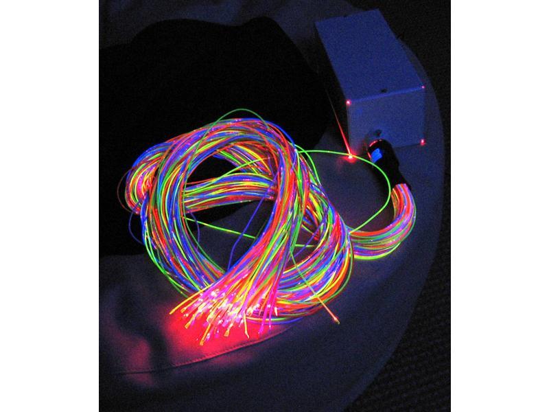 Vezelnevel bundel kunststof UV, 100x200cm