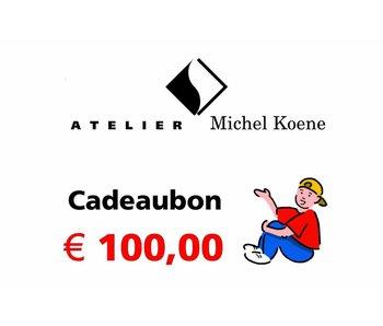 Cadeaubon € 100,00
